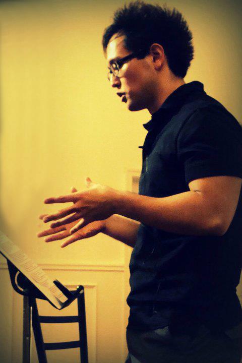 Joon preaching