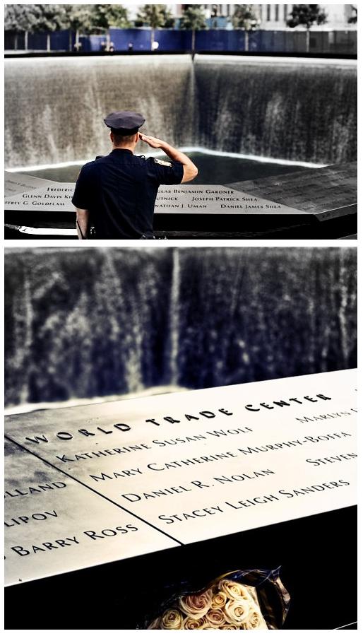 World Trade Center 9-11 salute