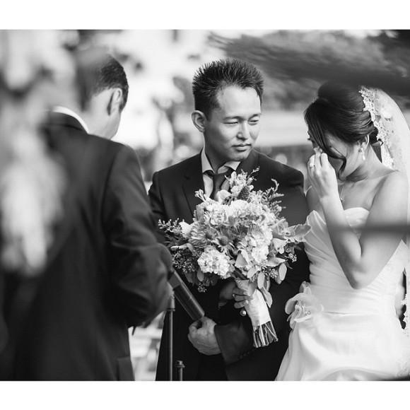 BW wedding ceremony