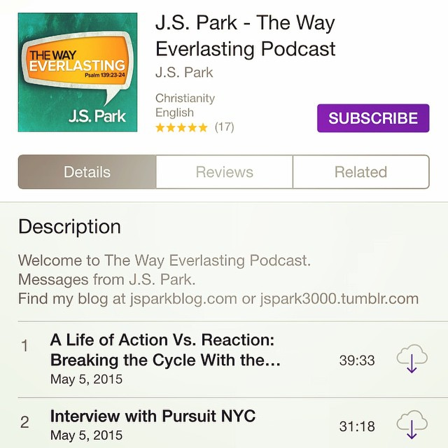 JS Podcast instagram