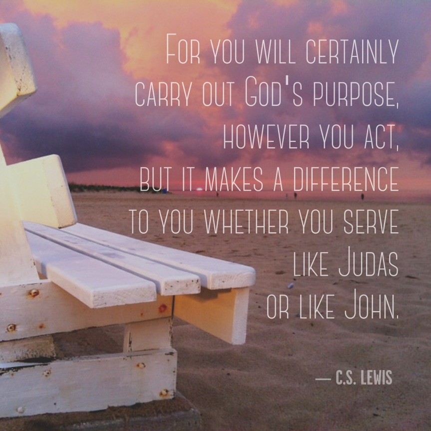 Gods Will John Judas CS Lewis Instagram jspark