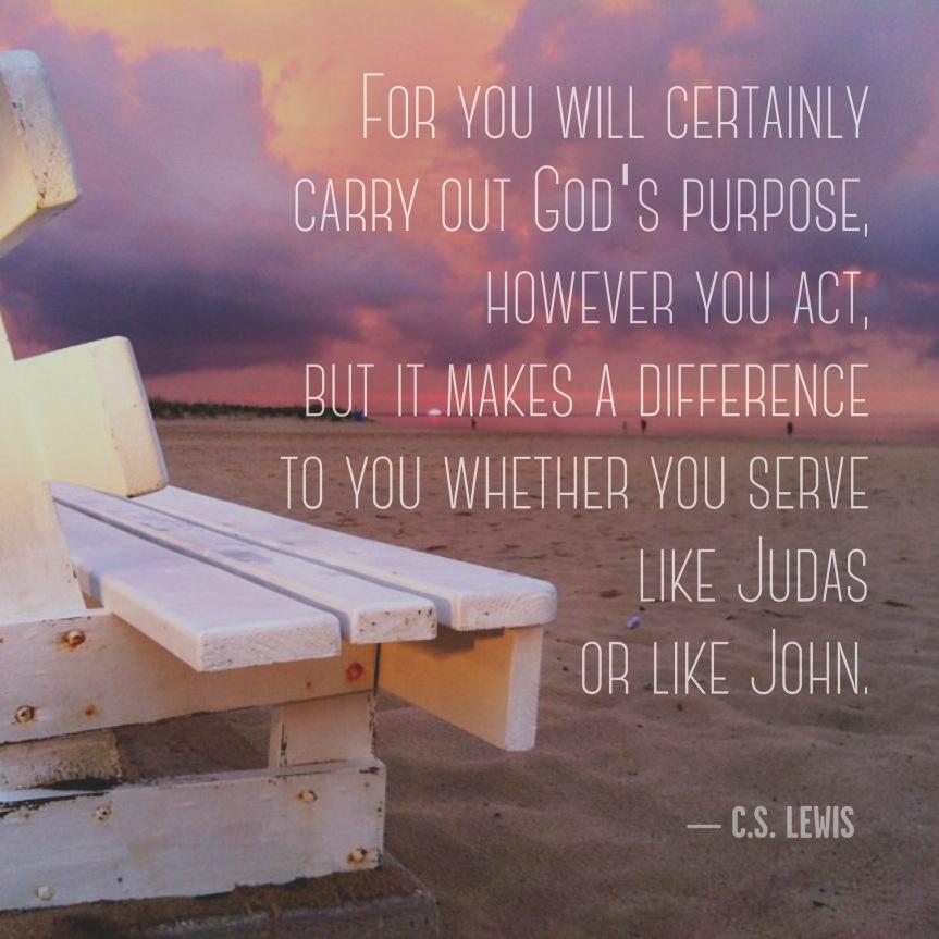 Gods Will John Judas CS Lewis Instagram jspark
