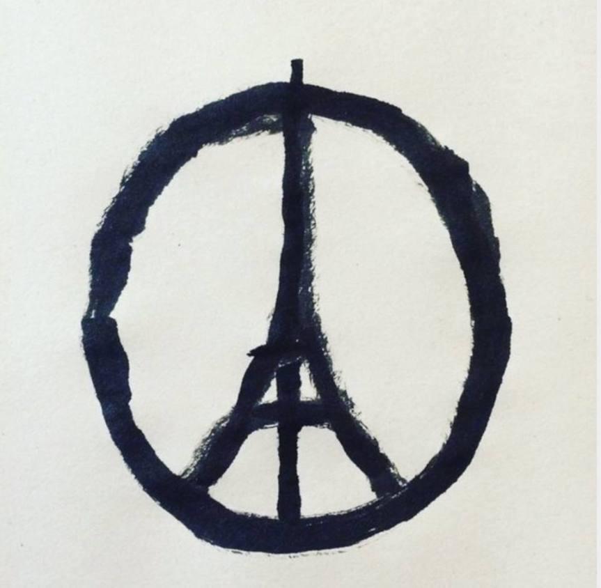 Paris peace Liz Gilbert Jean Jullien