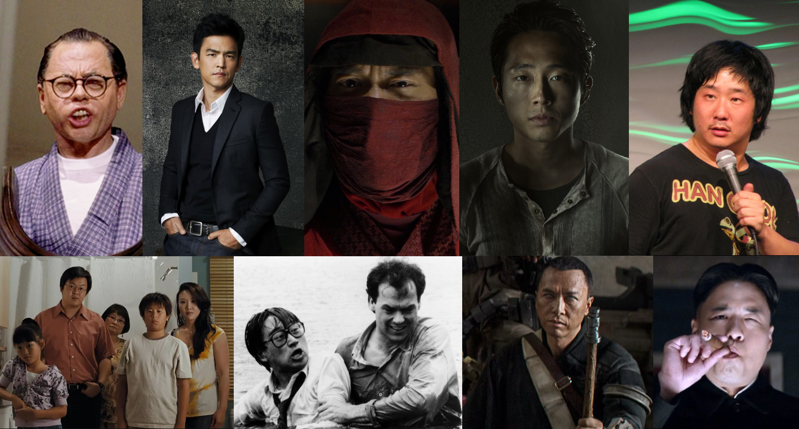 Asian male stars and thought